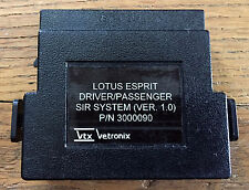 Lotus Esprit Dual-SIR (Airbag) cartridge for Tech-1, Tech-1A,  Mastertech