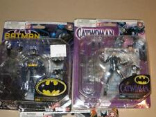 TAKARA MICROMAN BATMAN & CATWOMAN ACTION FIGURE SET NEW DC Comics
