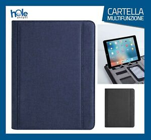 Cartella Porta documenti Cartelletta A4 Portadocumenti Borsa Porta Tablet A4 5