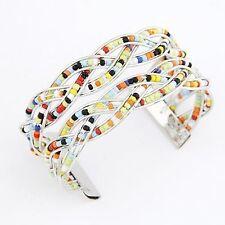 Acrylic Alloy Costume Bracelets without Stone