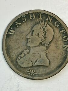 (1783) Washington Double Head Colonial Copper Coin