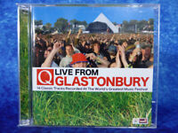 Q Live From Glastonbury CD Compilation Album JULY 2007 14 tracks from festival