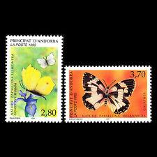 Andorra 1995 - Nature protection Butterflies Fauna - Sc 454/5 MNH