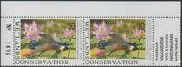 Australia Cinderella Ducks 1992 $10 Shoveler pair MNH