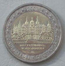 2 Euro Deutschland F 2007 Schweriner Schloss MVP unz