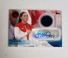 2016 Topps U.S. Olympic Team Autographed Relics Bronze #USARSB Sue Bird SN 23/25