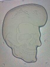 Flexible Resin Mold Elvis Themed Rockabilly Greaser Skull Mould Resin Supplies