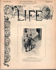 1893 Life October 5 - The Fair closes; Ascendency of the Train robber; Recap