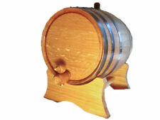 Oak barrels 10 liter Black Hoop home use small barrel - free engraving