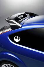 2X Star Wars Alianza Rebelde Automóvil Pegatinas/Calcomanías de Vinilo Surf VW t4 t5