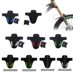 26 CNC 2 Pezzi Parafango MTB 29 Parafanghi per Mountain Bike Paraspruzzi Anteriori e Posteriori Compatibili 20 DH e Endure Bici 27.5 Pieghevole//Universale//Riflettente
