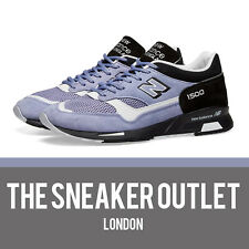 Mens New Balance 1500 SVL Trainers UK Size 9.5 // Lilac Black Made In UK