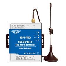 GSM SMS Contrôleur d'Alarme Sans Fil Contrôle à Distance Sirène pour Portail