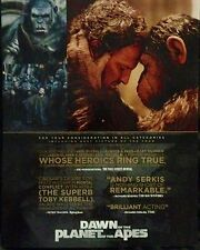 Dawn Of The Planet Of The Apes Oscar Golden Globe advertisement Jason Clark ad