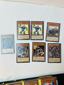 Yu-Gi-Oh! TCG - MACHINE AND ANCIENT GEAR LOT - 7 cards lot! ALL NM