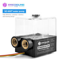 Water Cooling Pump Tank Integrated Liquid Cooled Pump 650L/H DC12V Fast Delivery