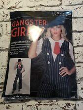 Karnival Womens Gangster Girl Costume SIZE XL
