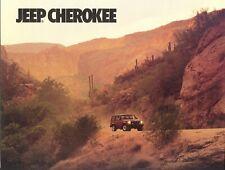 #pha.011708 Photo JEEP CHEROKEE PIONEER 1984-1987 Car Auto