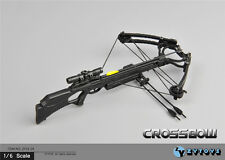 "12"" Action Figure ZY Toys Weapon 1/6 Scale Model Hunting Recurve Crossbow Arrow"