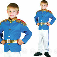 BOYS PRINCE CHARMING FANCY DRESS COSTUME ROYAL FAIRY TALE CHILDS FAIRYTALE KIDS