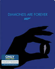 Diamonds Are Forever (Blu-ray Disc, Includes Digital Copy; Steelbook)Brand New