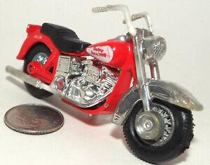 Nice Die Cast Harley-Davidson Motorcycle in Red