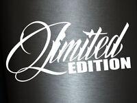 1 x 2 Plott Aufkleber Limited Edition Special Edition Limitierte Sticker Static