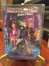 MONSTER HIGH:  GHOULS RULE (DVD, 2014) Mfg. Sealed