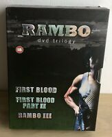 The Rambo Trilogy (DVD, 2005, 3-Disc Set, Box Set)