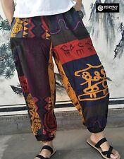 Pantaloni Uomo Largo Stampa Etnica Man Trousers Wide Ethnic Pants PAMAN27