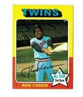 1975 Topps Baseball - Rod Carew #600 -Set Break!