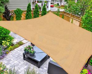 malla de sombra para jardin toldos para jardin patio bloqueo UV 10'x13' nuevo