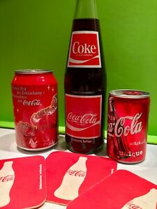 Original Coca Cola Coke Souvenir Flasche Dose 750 Jahre Berlin Set Ungeöffnet
