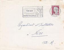 France 1961 VICHY SANTE-Vacances Slogan sur pièce