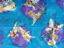 CLEARANCE FQ DISNEY TINKERBELL FAIRY CHILDRENS GIRLS CHARACTER FABRIC