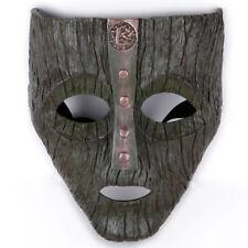 Loki Mask Jim Carrey Film 'The Mask' Brown Costume Fancy Dress Halloween Props