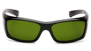 Pyramex Emerge IR3 Welding/Brazing/Cutting Black Dark Green Safety Glasses Z87+