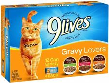 Pet Wet Cat Food Gravy kittens and Adult Cats Beef Chicken Fish Cans Pack Of 12