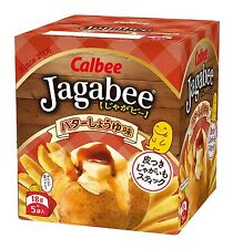From Japan Japanese Snack Jagabee Soy Souce with Butter Calbee Set of 12 boxes