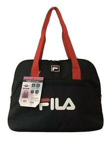 Fila Tote Bag by American Traveler Gym Workout Bag Yoga Mat Straps
