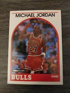 1989-90 NBA Hoops Chicago Bulls Michael Jordan #200