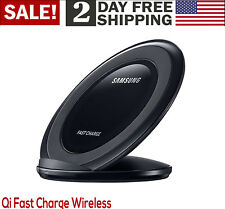 Samsung Qi Universal Certified Fast Charge Wireless Charger Stand US Version Blk