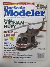 Fine Scale Modeler Magazine   April 2003     Mekong River Special Ops Diorama
