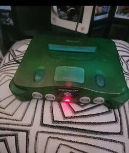Nintendo 64 Green Console