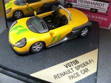 1/43 Vitesse Renault Spider-F1 Pace Car Grün/Gelb  V070B