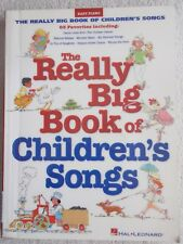 Really Big Bk 63 Children's Songs EZ Piano Voice Guitar Unmarked