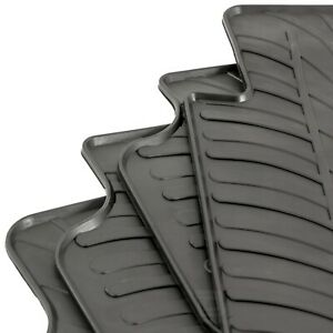Gledring Tailored Rubber Floor Mats fits BMW 3 Series F30/F31 11-19 Moulded Set