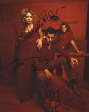 BUFFY THE VAMPIRE SLAYER CAST AUTOGRAPHED SIGNED A4 PP POSTER PHOTO 1