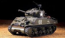 "RC Panzer ""US M4A3 Sherman"" Heng Long 1:16 Rauch Sound Metallgetriebe 2,4GHz Neu"