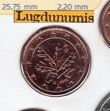 Allemagne 2013 5 centimes D Munich FDC provenant coffret BU 40000 exemplaires